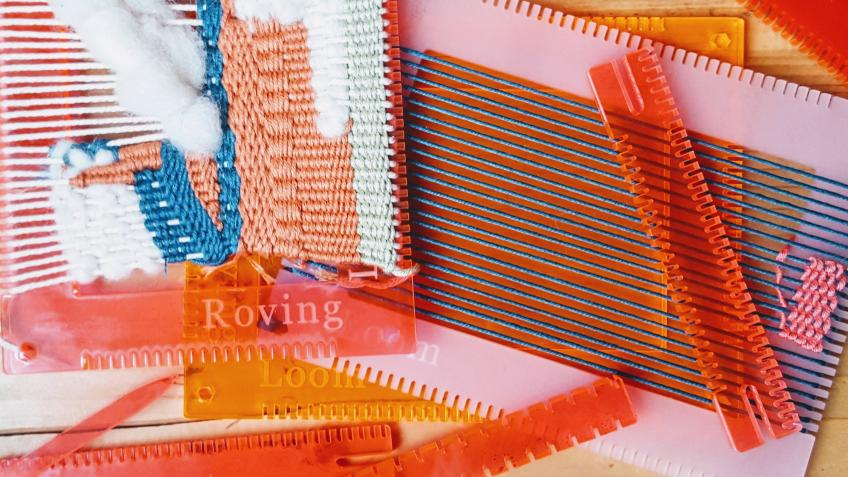 Roving Loom - weaving hope