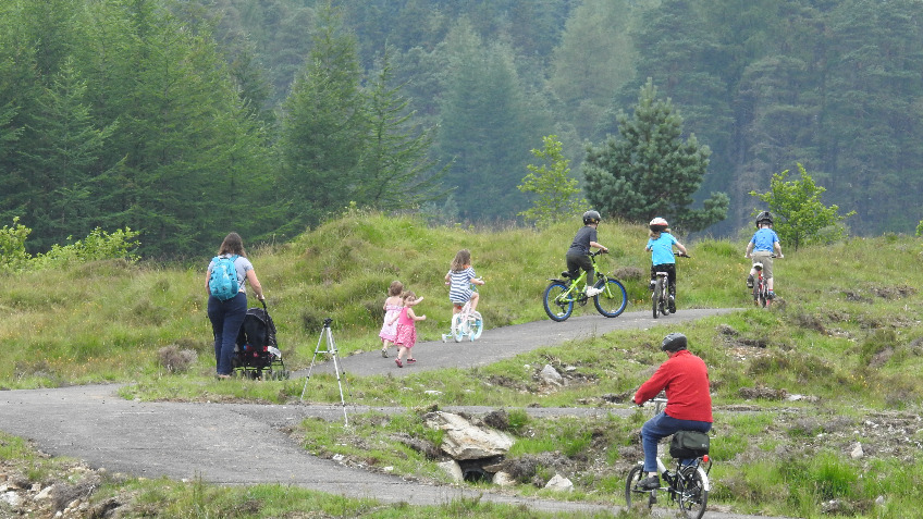Tyndrum to Crianlarich Cycle Path - 1st phase