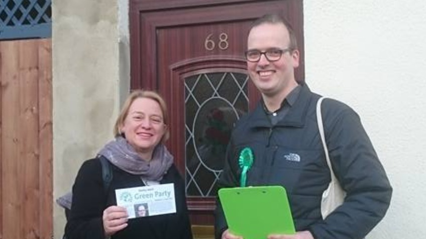 Electing a Green councilor for Derby