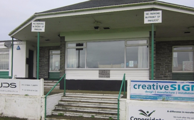 Camborne cc clubhouse and practice nets project image
