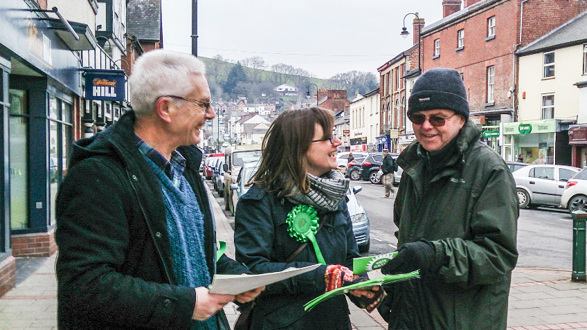 Montgomeryshire Green Party - Funding Appeal
