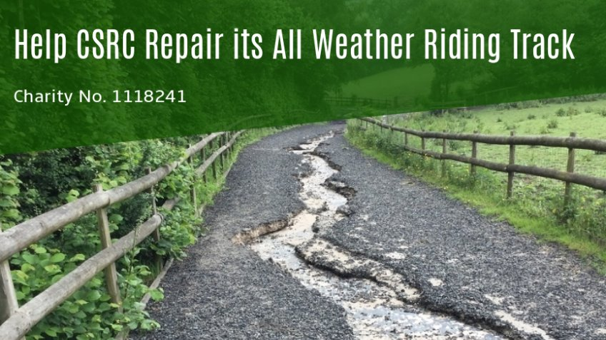 Help CSRC Repair its All Weather Riding Track