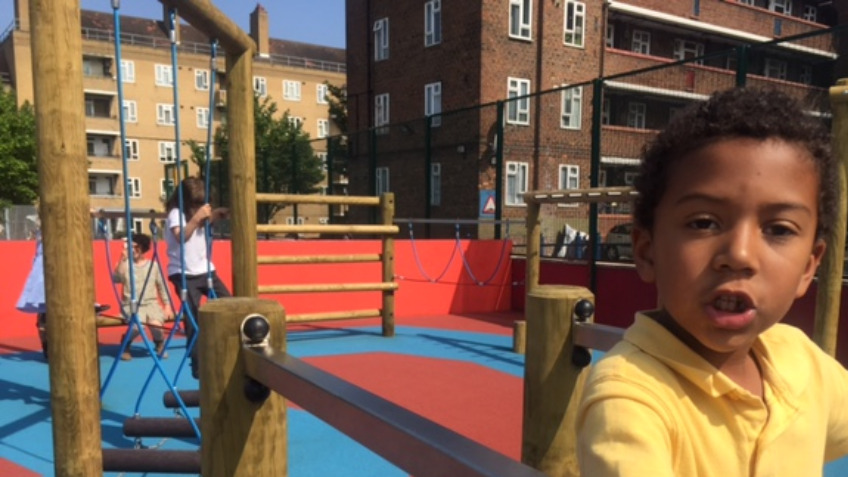 Jubilee Primary School - New Playground!