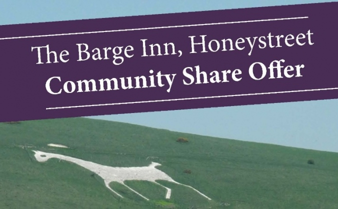 Save the famous barge inn honeystreet image