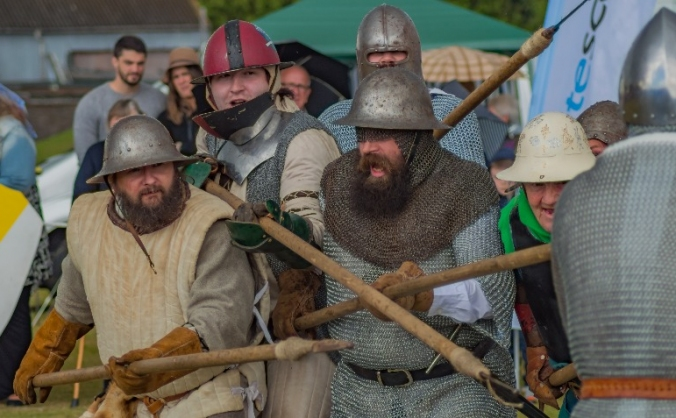 Monifieth medieval fair image