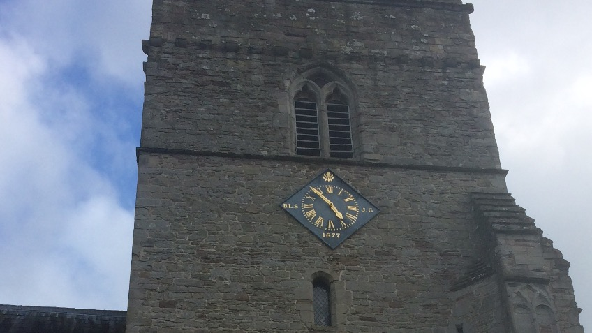 Kingsland  Parish Church Clock