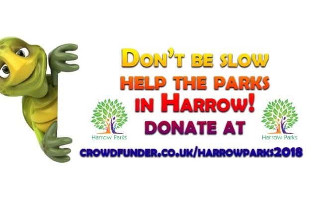 Harrow parks fundraiser image