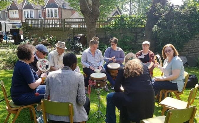 Lewisham unity community garden oasis image