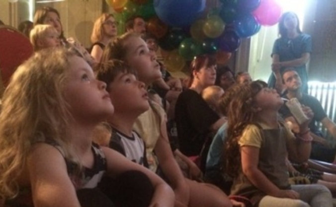 Beckenham mansion family film fest image