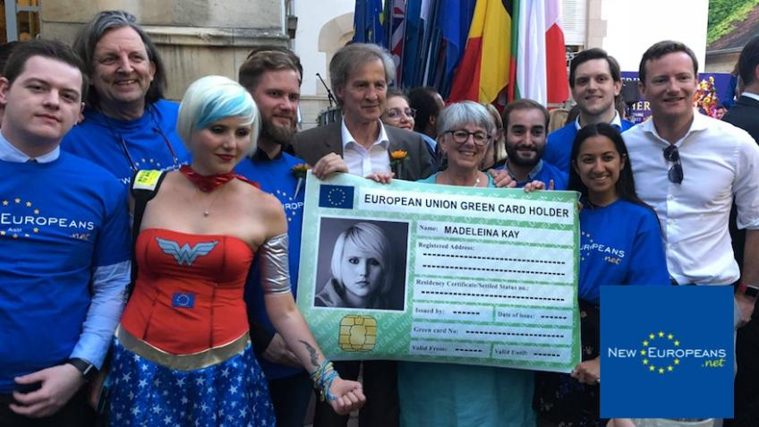 #GreenCard4Europe - Stage 3: Roll out of prototype