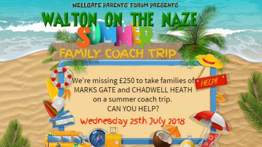 Community Coach Trip to Walton on the Naze