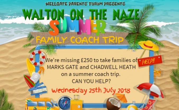 Community coach trip to walton on the naze image