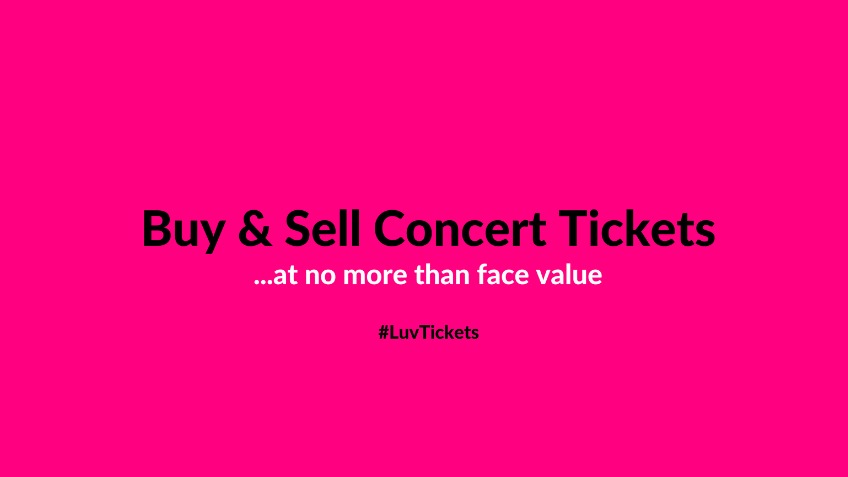 Luv Tickets - A free ticket reseller marketplace.