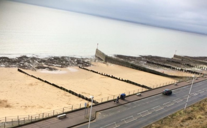 Community funding for western undercliff beach image