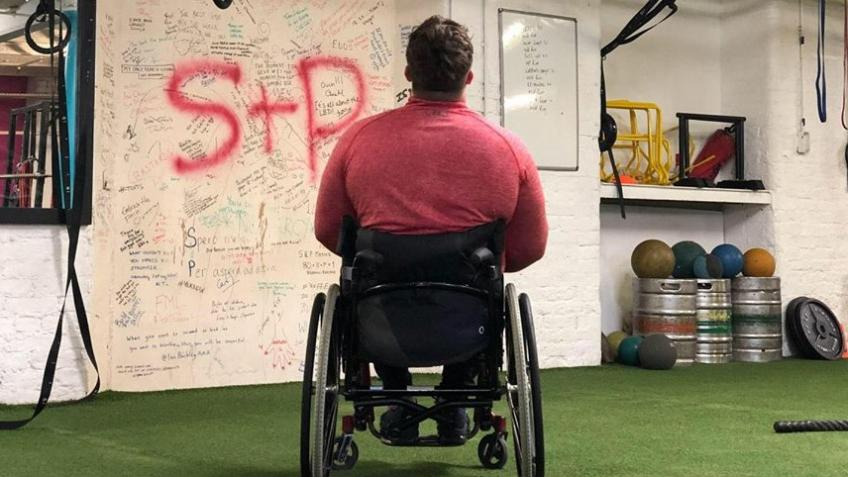 Dave's journey to walk again