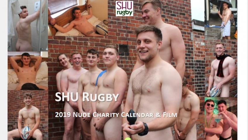 SHU Rugby 2019 Nude Charity Calendar & Film - a Arts crowdfunding project  in Sheffield by SHU Rugby