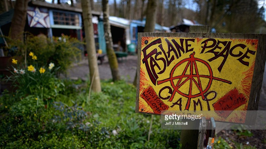 Future-proofing the Faslane Peace Camp!