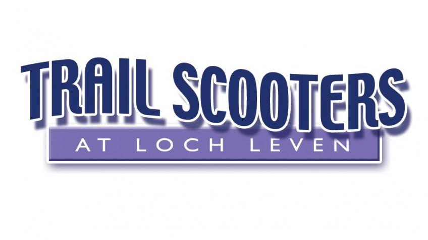 TRAIL SCOOTERS AT LOCH LEVEN