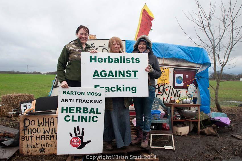 Herbalists against Fracking