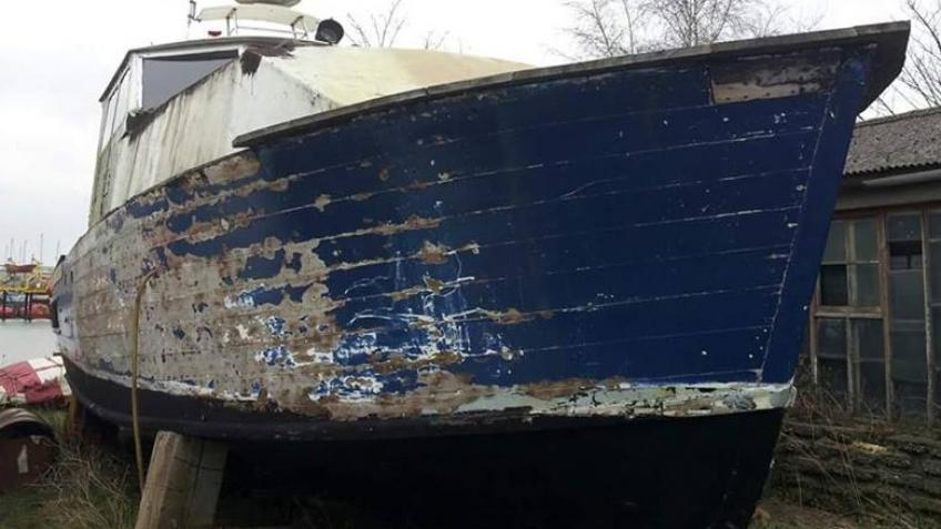 WW2 boat restoration