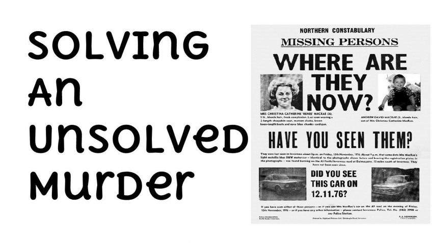 Solving an Unsolved Murder - a crowdfunding project in by