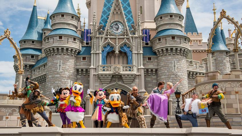 Dream holiday to Disney world Florida