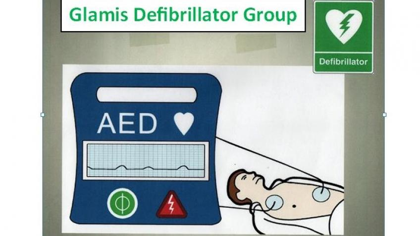 Glamis Village Defibrillator Project