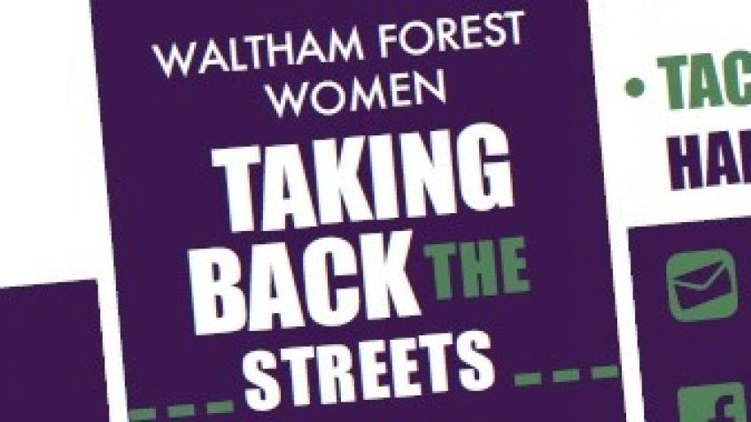 Waltham Forest Women Taking Back the Streets cards