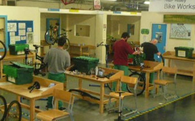 Velotech training for mcf bikery mechanics image