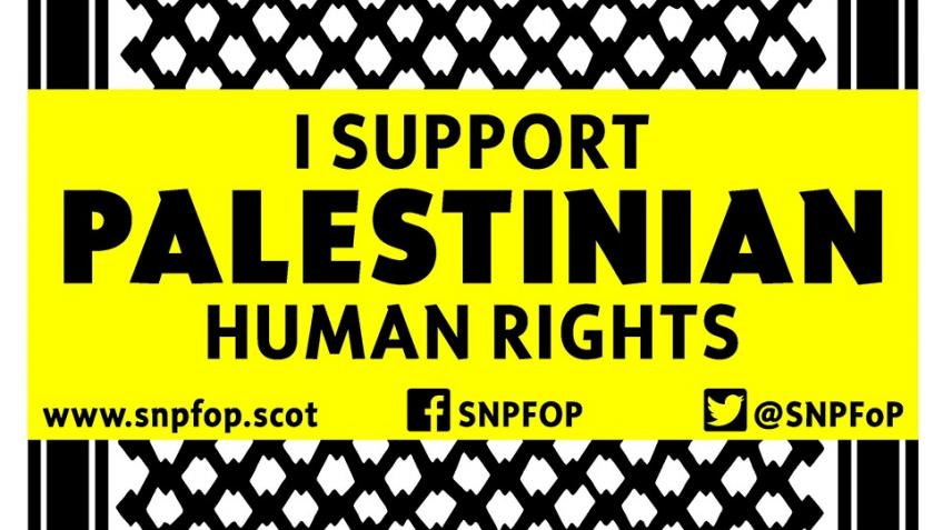 Help us bring BDS to SNP Conference!