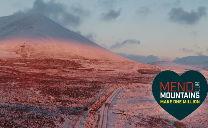 Mend the cairngorms (beinn a'ghlo) image
