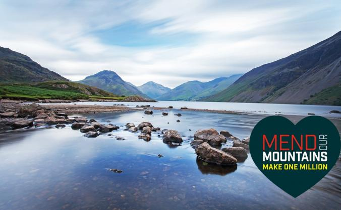 Mend the lake district (scafell pike) image