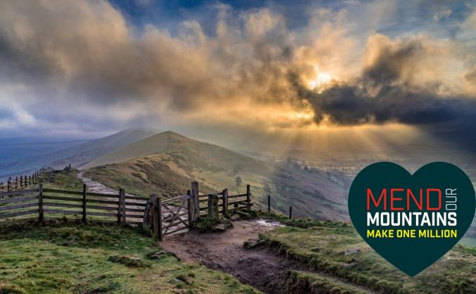 Mend the great ridge (peak district) image