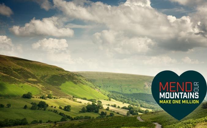 Mend the brecon beacons (bâl mawr) image