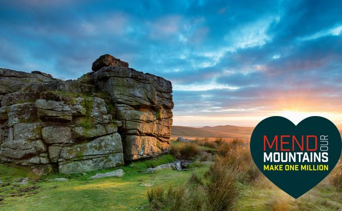 Mend dartmoor (nun's cross path) image