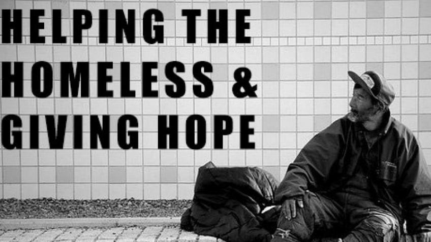 Help me fund a business idea to help the homeless