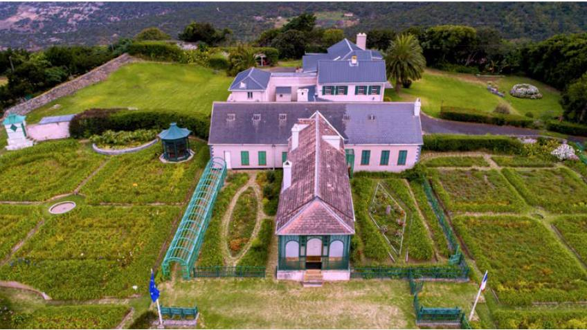 Save Napoleon's gardens on St Helena !