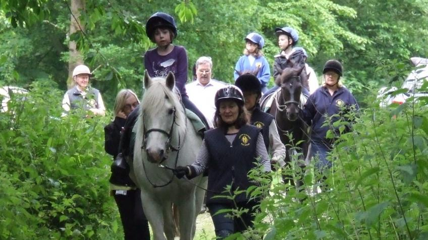Riding with Ludlow & District RDA