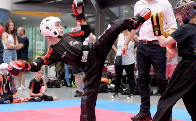 All abilities kickboxing image
