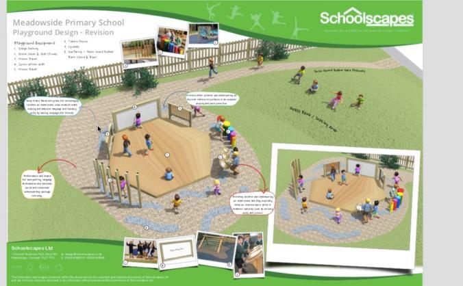Meadowside primary amphitheatre development image