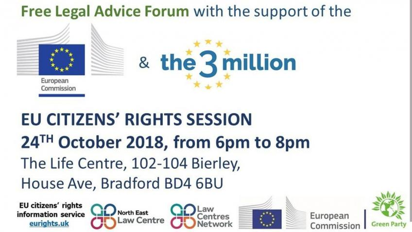 Hosting a EU Citizens' Rights Info Session