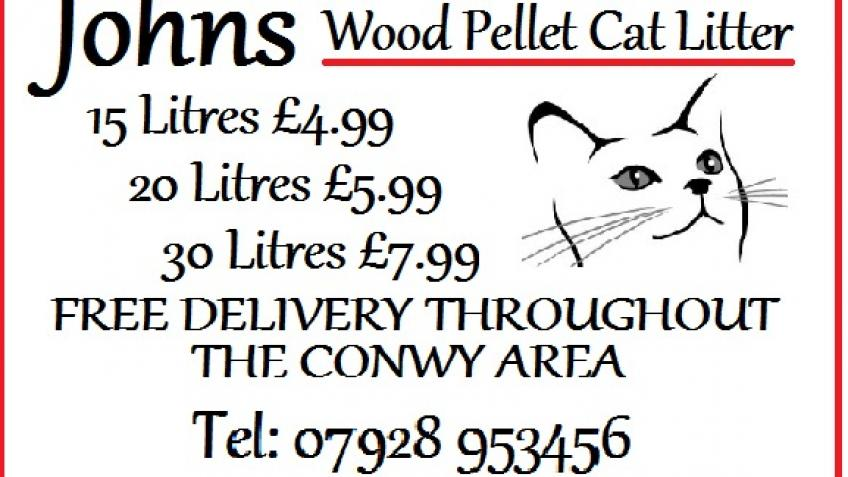 Johns Wood Pellet Cat Litter