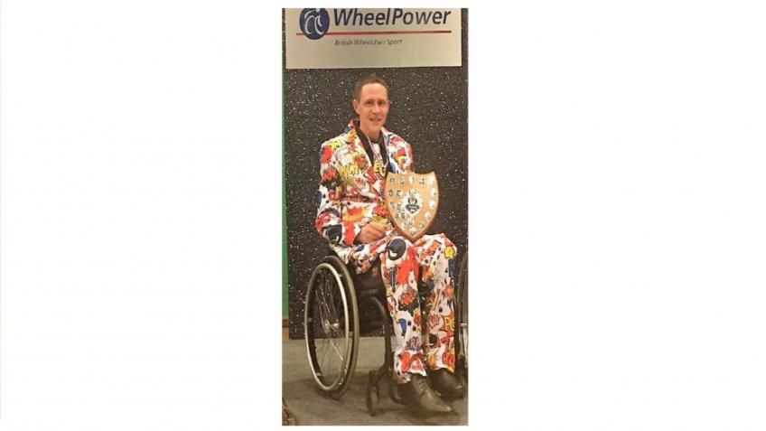 Smart Drive wheelchair adaption for Glyn