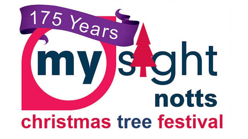 The My Sight Notts Christmas Tree Festival