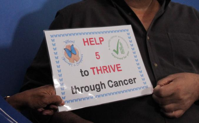 Five2thrive through cancer image
