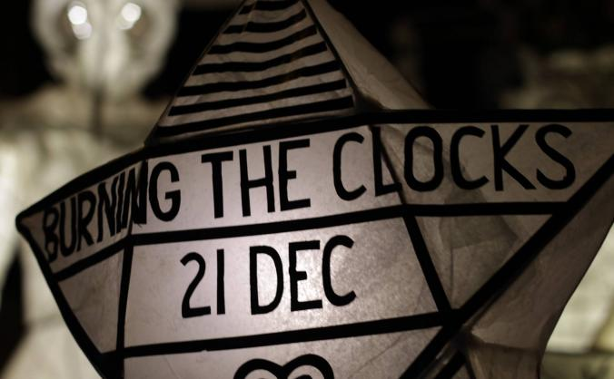 Burning the clocks 2018 image