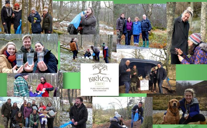 Help launch the 1st homegrown birchwater in the uk image