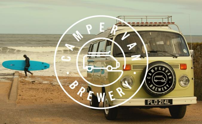 Campervan brewery community taproom image