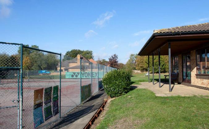 Roade tennis club court improvements image