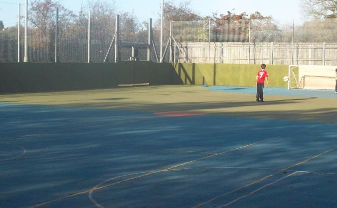 Muga refurbishment image